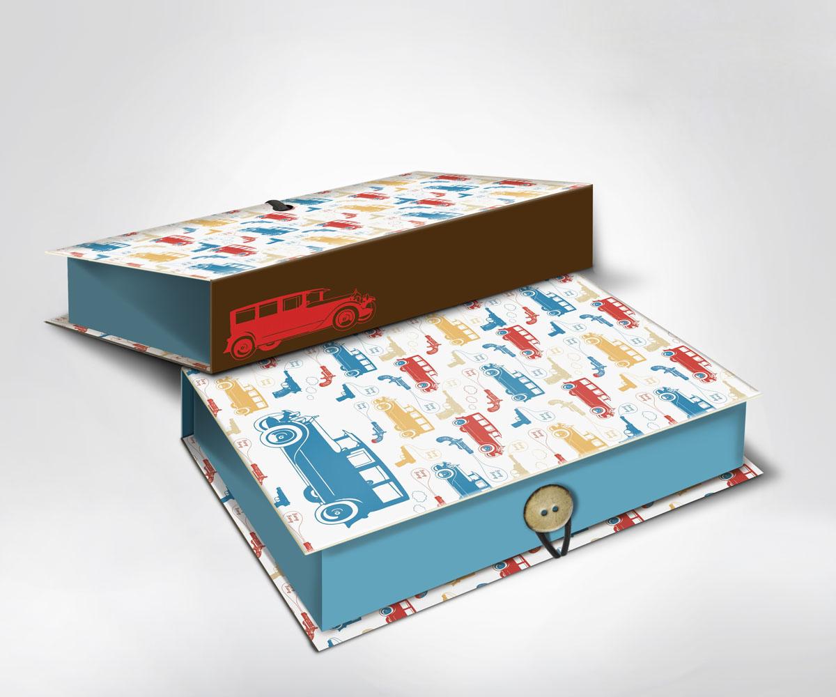 Подарочная коробка Машинки, 20 см х 14 см х 6 см36535Подарочная коробка Машинки выполнена из плотного картона. Крышка оформлена ярким изображением машин и пистолетов. Коробка закрывается на пуговицу. Подарочная коробка - это наилучшее решение, если вы хотите порадовать ваших близких и создать праздничное настроение, ведь подарок, преподнесенный в оригинальной упаковке, всегда будет самым эффектным и запоминающимся. Окружите близких людей вниманием и заботой, вручив презент в нарядном, праздничном оформлении.