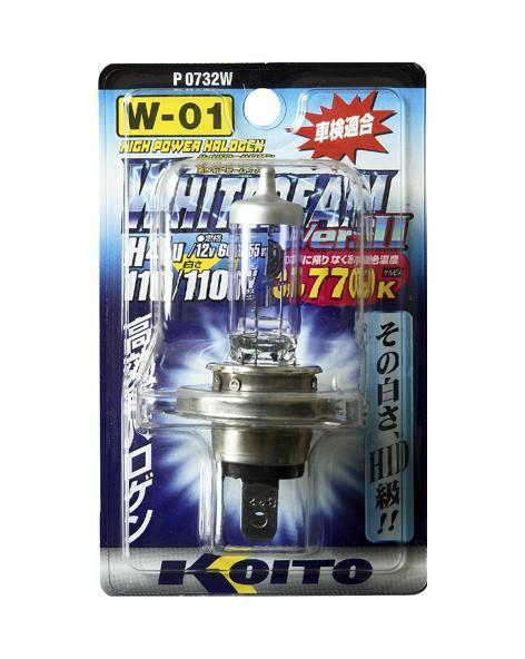 Лампа высокотемпературная Koito Whitebeam, 3770К, 12ВP0732WЛампа высокотемпературная Koito Whitebeam, 3770К, 12В - обладают ярким эффектным светом и компактными размерами. У лампы есть большой запас срока службы. Способна выдержать большое количество включений и выключений. Напряжение: 12 вольт