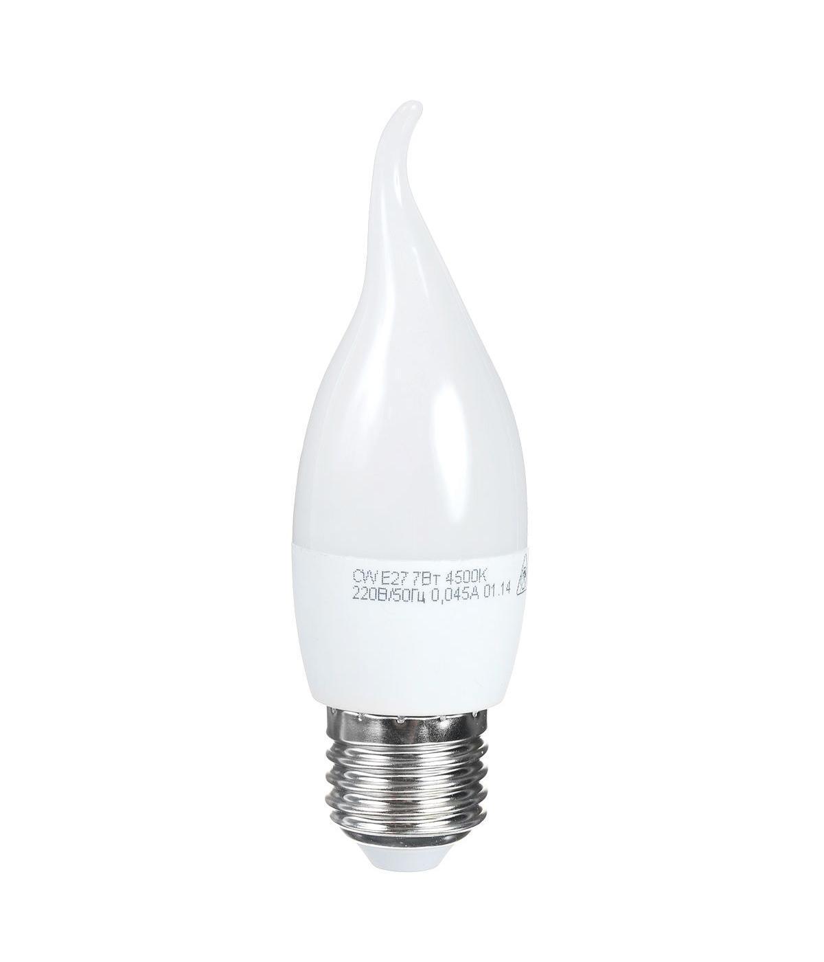 Светодиодная лампа Kosmos, белый свет, цоколь E27, 7W, 220V. Lksm_LED7wCWE2745Lksm_LED7wCWE2745Светодиодная лампа Kosmos инновационный и экологичный продукт, специально разработанный для эффективной замены любых видов галогенных или обыкновенных ламп накаливания во всех типах осветительных приборов. Основные преимущества лампы Kosmos: Служит 30000 часов, что в 30 раз дольше лампы накаливания. Экономична - сберегает до 90% электроэнергии. Обладает высокой механической прочностью и вибростойкостью. Устойчива к перепадам температуры (от -40°С до +50°С). Уважаемые клиенты! Обращаем ваше внимание на возможные изменения в дизайне упаковки. Качественные характеристики товара остаются неизменными. Поставка осуществляется в зависимости от наличия на складе.