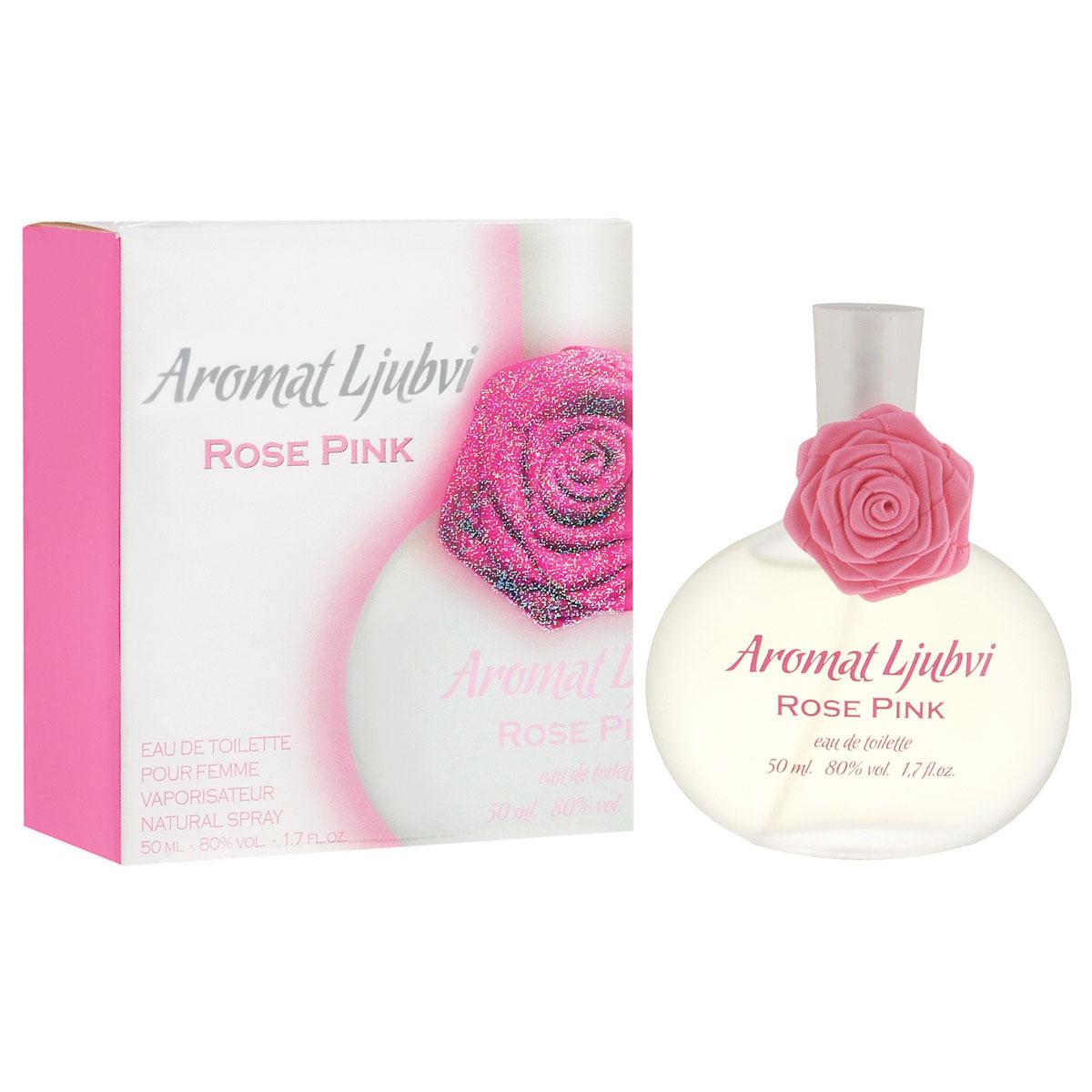 "Apple Parfums Туалетная вода ""Aromat Ljubvi. Rose Pink"", женская, 50 мл 41688"