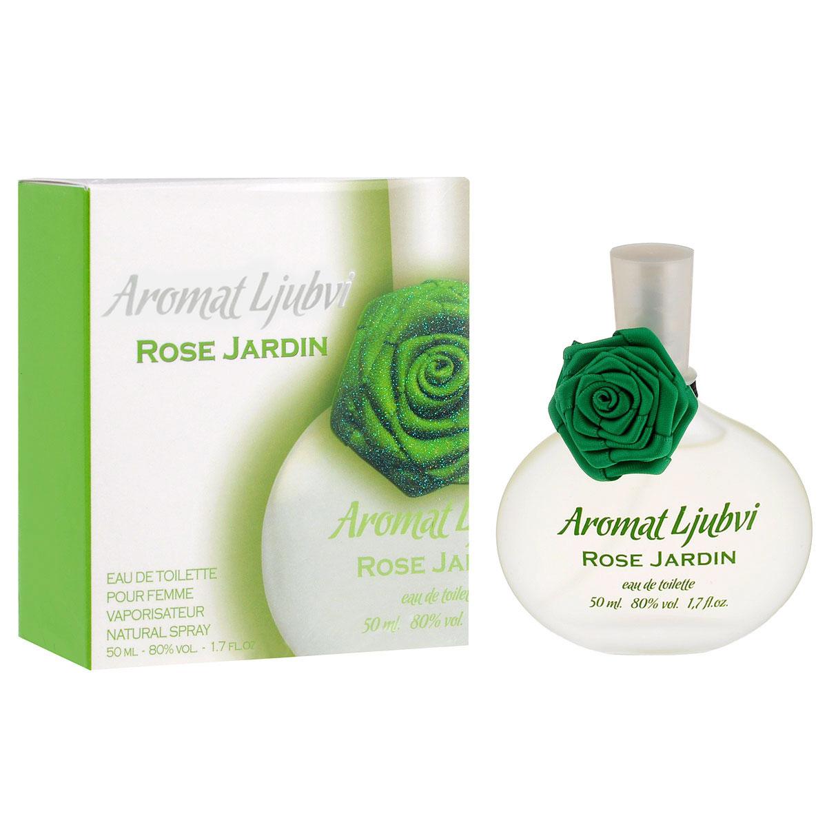 Apple Parfums Туалетная вода Aromat Ljubvi. Rose Jardin, женская, 50 мл
