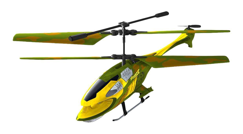 Auldey Вертолет на радиоуправлении Airforce1169958Яркий вертолет Auldey Hover Champs AIR FORCE YW858515 привлечет внимание не только ребенка, но и взрослого, и станет отличным подарком любителю воздушной техники. Он оснащен 3-канальным управлением и встроенным гироскопом, благодаря которому модель обладает высокой стабильностью полета, что позволяет полностью контролировать его процесс, управляя без суеты и страха сломать игрушку. Она может двигаться во всех направлениях. Каждый запуск игрушки будет максимально комфортным и принесет вам яркие впечатления. Вертолет выполнен из металла с элементами пластика. Длина вертолета 22 см.