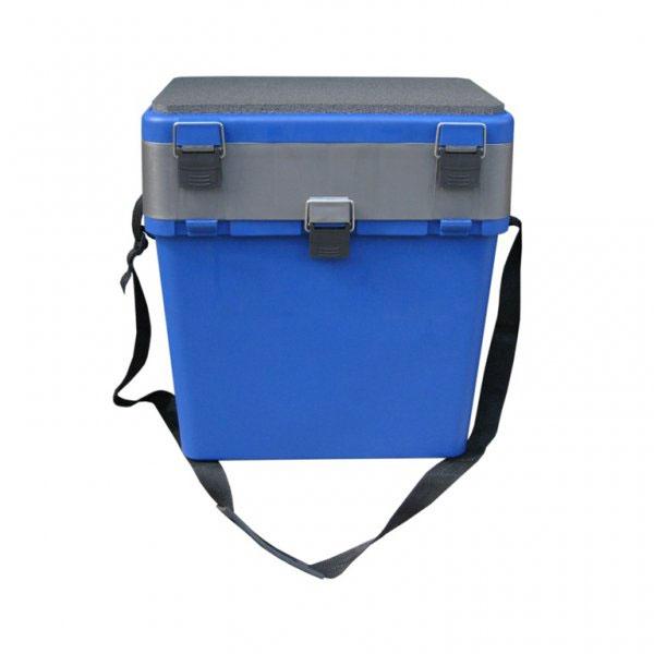 Ящик зимний Helios, 19 л, цвет: синий