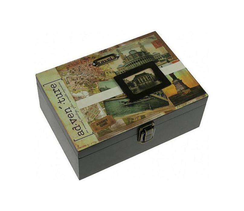 Шкатулка 21*8*15см 3930339303Шкатулка Русские подарки 39303 подойдет для хранения фотографий, денег или документов. С ней вы сможете внести в интерьер частичку элегантности. Данная модель выполнена из качественных материалов и станет оригинальным подарком. Материал: MDF, бумага, эл. металла; цвет: светло-зеленый