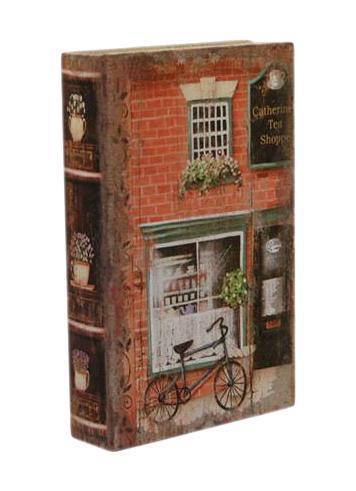 Шкатулка-фолиант Улочки Лондона 26*17*5см184248Шкатулка Русские подарки Улочки Лондона 184248 сохранит ваши украшения в первозданном виде. С ней вы сможете внести в интерьер частичку элегантности. Данная модель выполнена из качественных материалов и станет оригинальным подарком.