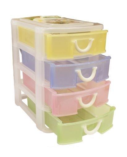 Контейнер для мелочей 2028В , 4-х ярусный. 2204-0048526929Контейнер для мелочей изготовлен из прозрачного пластика, что позволяет видеть содержимое. Внутри содержится 4 ячеек для хранения мелких принадлежностей. Крышка плотно закрывается. Такой контейнер поможет держать вещи в порядке. Идеально подходит для хранения принадлежностей для шитья и других мелких бытовых предметов.