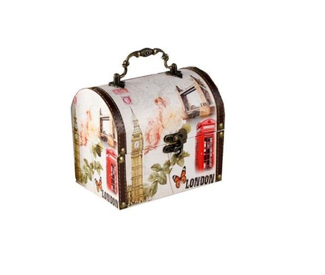 Набор декоративных шкатулок ZW000368-C Лондон, 2 штуки (20*15*17, 16*11*13)ZW000368-CВеликолепный набор шкатулок на все случаи жызни. Здесь можно хранить бижутерию, ювелирные изделия и множество других мелочей. Оригнальний подарок для вашей второй половинки