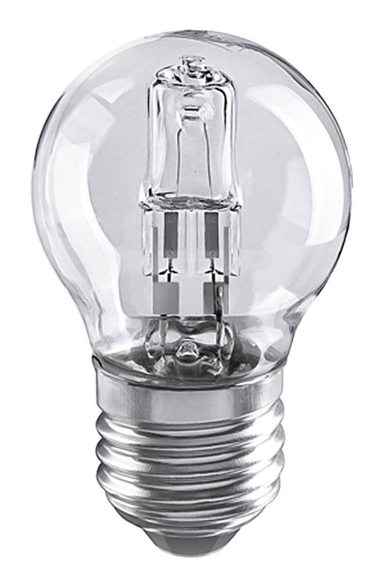 Лампа галогенная Elektrostandard Шар G45 28W E27a027Лампа галогенная Elektrostandard Шар G45 28W E27 - источник света, у которого светящим элементом является вольфрамовая спираль. У лампы есть большой запас срока службы. Способна выдержать большое количество включений и выключений. Напряжение: 220 вольт
