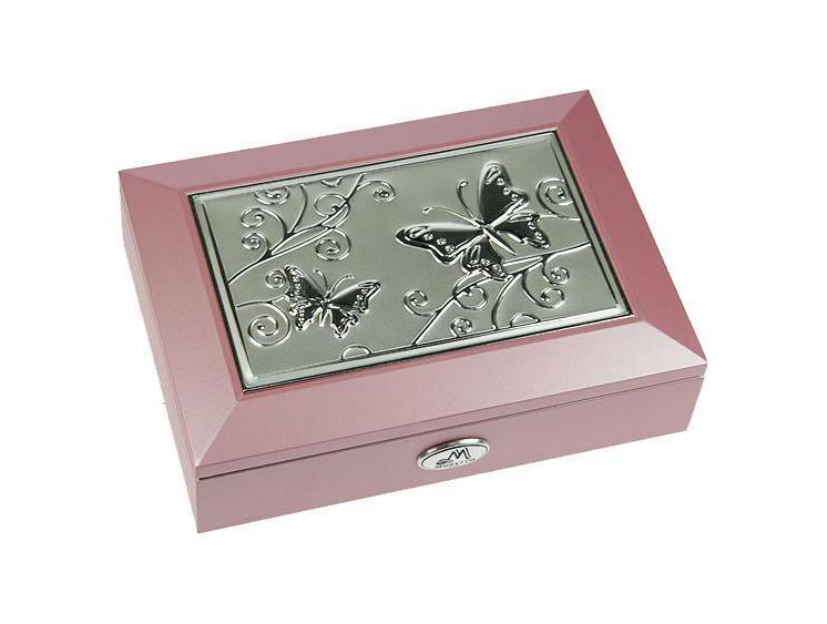 Шкатулка ювелирная Moretto, цвет: розовый, 18 см х 13 см х 5 см. 3991939919Шкатулка Русские подарки MORETTO 39919 - это оригинальный и стильный подарок. Эта модель сохранит ваши ювелирные изделия в первозданном виде. С такой шкатулкой вы сможете внести в интерьер частичку элегантности.