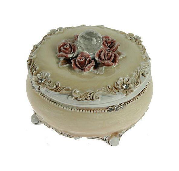 Шкатулка Розы, цвет: бежевый, 9 см х 9 см х 6 см. 224845224845Шкатулка Русские подарки Розы 224845 сохранит ваши ювелирные изделия в первозданном виде. С ней вы сможете внести в интерьер частичку элегантности. Данная модель выполнена из качественных материалов и станет оригинальным подарком.
