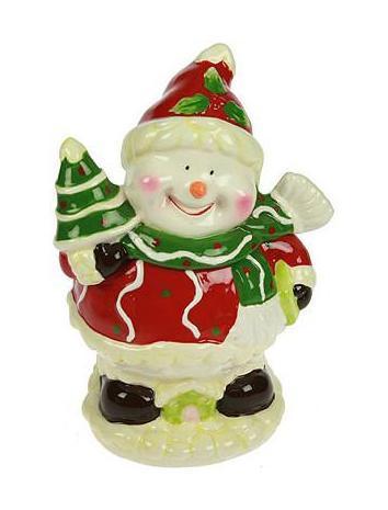 Шкатулка Снеговик с елочкой 12*10*18см - Русские Подарки119705Шкатулка Русские подарки Снеговик с елочкой 119705 для хранения ювелирных украшений не оставит равнодушной ни одну любительницу изысканных вещей. Она выполнена в нежных, изысканных тонах и имеет оригинальный рисунок.