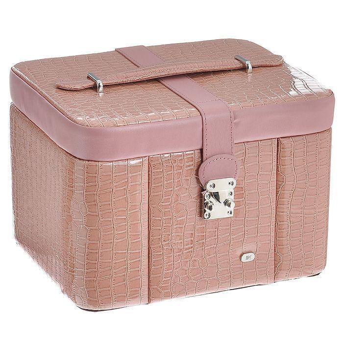 "Шкатулка для украшений ""Jardin d'Ete"", цвет: бледно-розовый. GP113E"