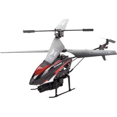 От винта! Вертолет на радиоуправлении Fly-02390239-FlyОписание вертолёта на радиоуправлении От винта! 0239-Fly Это модель вертолета с 3-канальной системой управлением на инфракрасных лучах, которая может стрелять ракетами. Она предназначена для запуска внутри помещения. Благодаря встроенному гироскопу он прекрасно держит равновесие в полете. Игрушка может летать во всех направлениях: вперед, назад, вправо, влево и вращаться на 360 градусов.