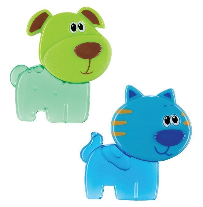 Набор игрушек-прорезывателей Happy Baby Chilly Pets, 2 шт