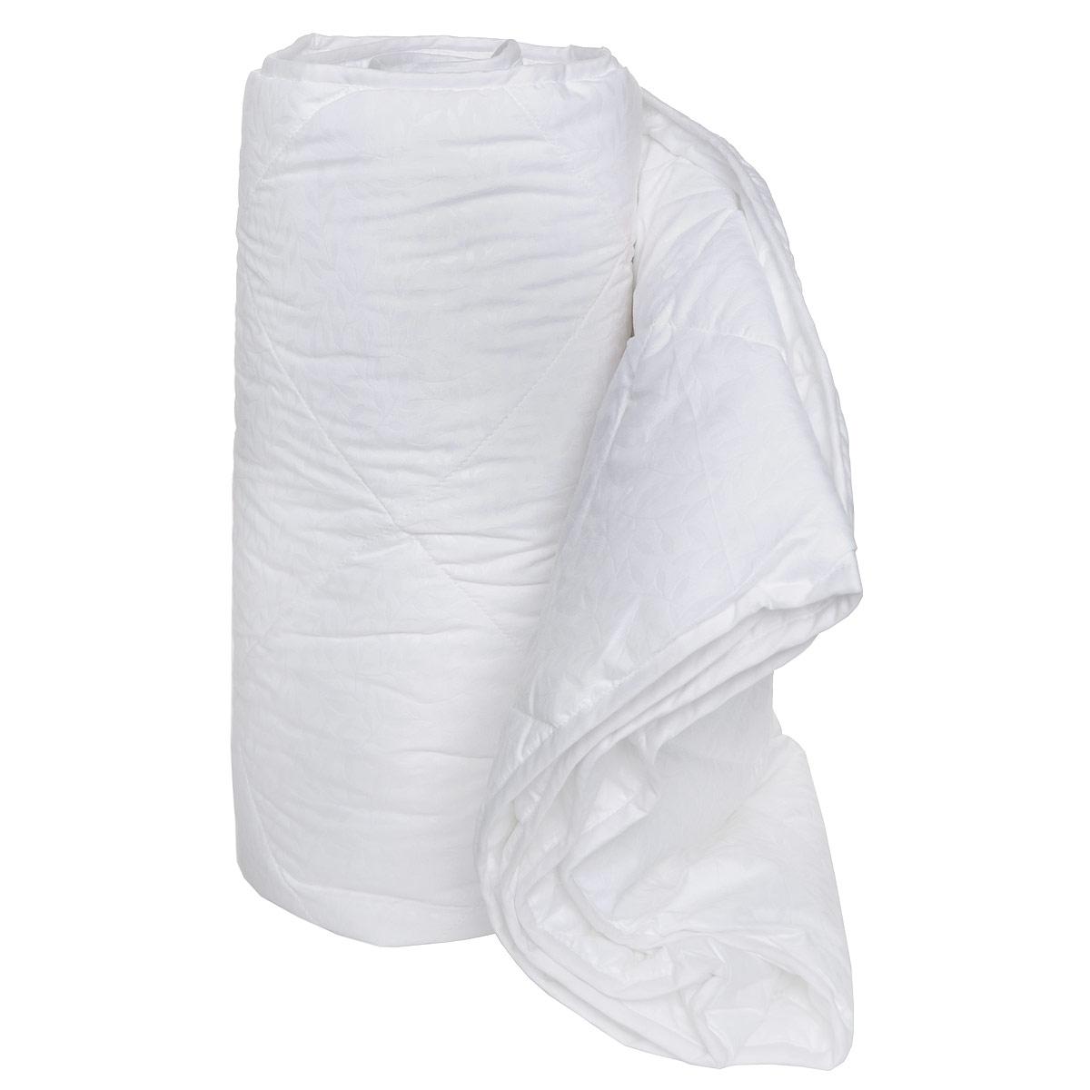 Одеяло облегченное OL-Tex Марсель, наполнитель: микроволокно OL-Tex, цвет: белый, 220 см х 200 смОЛМ-22-2Одеяло OL-Tex Марсель подарит невероятную мягкость, здоровый и комфортный сон. Чехол выполнен из микрофибры белого цвета с изящным цветочным узором. Внутри - полиэфирное высокосиликонизированное микроволокно OL-Tex. Это волокно является усовершенствованным аналогом наполнителя Лебяжий пух. Благодаря уникальной технологии, наполнитель отличается безупречным качеством. Одеяло простегано и окантовано. Стежка равномерно удерживает наполнитель в чехле. Основные свойства наполнителя OL-Tex: - особая мягкость и легкость, - отличные терморегулирующие свойства, - не вызывает аллергии, - практичность и легкий уход. Одеяло облегченное, поэтому подходит на летний сезон, оно дарит комфортное тепло, под ним вам не будет жарко. Рекомендации по уходу: - Ручная и машинная стирка при температуре 30°С. - Не гладить. - Не отбеливать. - Нельзя отжимать и сушить в стиральной машине. - Сушить вертикально. Размер одеяла: 220 см х 200 см. ...