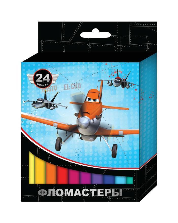 Фломастеры Disney Самолеты 24 цв.22291Фломастеры «Disney» Самолеты помогут вашему малышу создать яркие рисунки, а упаковка с героями любимого мультфильма будет долгое время радовать кроху. В наборе 24 фломастера разных цветов, снабженных вентилируемыми колпачками, безопасными для детей. Фломастеры безопасны при использовании по назначению, изготовлены из материала, обеспечивающего прочность корпуса и препятствующего испарению чернил, благодаря чему они имеют долгий срок службы. Гарантийный срок хранения: 24 месяца. Поверхность: Бумага. Для рисования. Материал: Пластик.