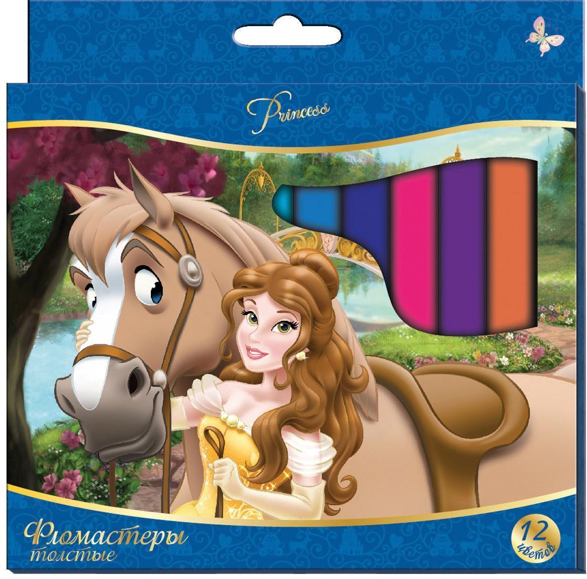 Фломастеры толстые Disney Принцессы 12цв.22606Толстые фломастеры «Disney» Принцессы предназначены для самых маленьких художников, которые только начинают свой творческий путь. Утолщенная форма корпуса фломастера создана специально для маленьких детских пальчиков. Они помогут вашему малышу создать яркие рисунки, а упаковка с героями любимого мультфильма будет долгое время радовать кроху. В наборе 12 фломастеров разных цветов, снабженных вентилируемыми колпачками, безопасными для детей. Фломастеры безопасны при использовании по назначению, изготовлены из материала, обеспечивающего прочность корпуса и препятствующего испарению чернил, благодаря чему они имеют долгий срок службы. Длина корпуса 145 мм, толщина линии письма 1,5 мм. Гарантийный срок хранения: 24 месяца. В наборе «Pampered Girls» серии «Клематис» 2 механических карандаша. Состав: пластик, металл, чернографитный грифель. Срок годности не ограничен. Поверхность: Бумага. Для рисования. Материал: Пластик.