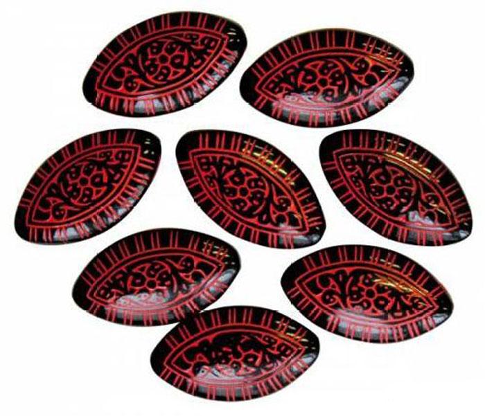 Бусины Астра, цвет: красный, черный (8), 30 мм х 17 мм, 12 шт. 7701059_0087701059_008Набор бусин Астра, изготовленный из пластика, позволит вам своими руками создать оригинальные ожерелья, бусы или браслеты. Бусины овальной формы оформлены оригинальным орнаментом. Изготовление украшений - занимательное хобби и реализация творческих способностей рукодельницы, это возможность создания неповторимого индивидуального подарка.