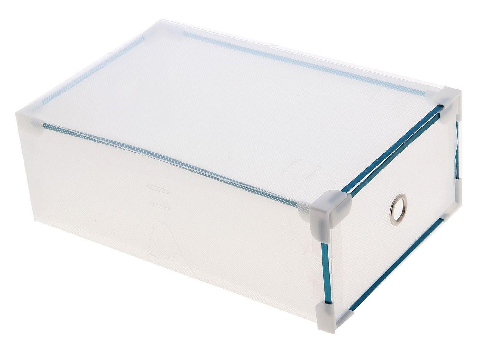 короб для хранения выдвижной 31*19,5*10,5см прозрачный 7099676907099670005Коробка для мелочей изготовлена из прочного пластика. Предназначена для хранения мелких бытовых мелочей, принадлежностей для шитья и т.д. Коробка оснащена плотно закрывающейся крышкой, которая предотвратит просыпание и потерю мелких вещиц. Коробка для мелочей сохранит ваши вещи в порядке. Материал: Пластик, металл