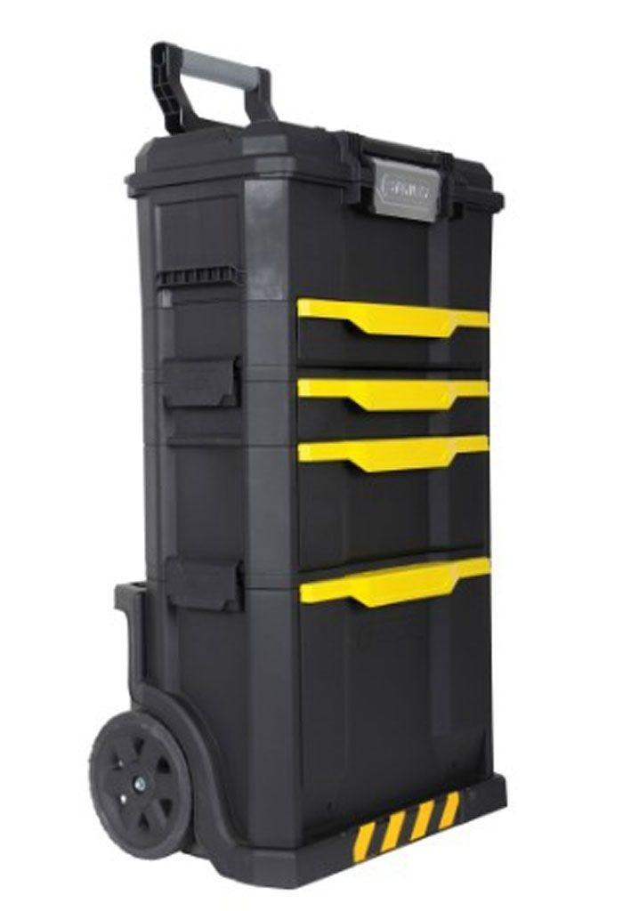 """Ящик для инструментов с колесами Stanley """"Modular Rolling Workshop"""", 86,6 x 48,8 x 34,8 см"""