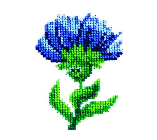 Набор для вышивания бисером Цветочек, 8 см х 11 см. 77117247711724Набор для вышивания Цветочек поможет вам создать свой личный шедевр - красивую картину, вышитую бисером. Работа, выполненная своими руками, станет отличным подарком для друзей и близких! Набор содержит: - ткань с рисунком-схемой, - бисер Preciosa Ornels (Чехия) - 6 цветов, - игла, - схема для вышивания, - инструкция на русском языке.