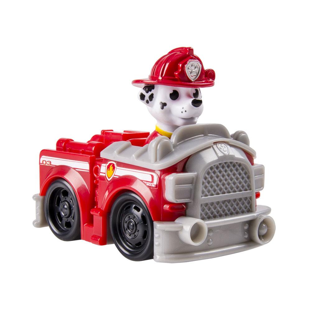 Игрушка Щенячий патруль Marshall Firetruck16605 Marshall FiretruckИгрушка Щенячий патруль Marshall Firetruck обязательно привлечет внимание вашего малыша. Игрушка представляет собой яркую пожарную машинку с фигуркой щенка Маршалла из популярного мультфильма Щенячий патруль. Фигурка не отделяется от машинки. Колеса машинки крутятся. Ваш ребенок весело проведет время, играя с машинкой на детской площадке или в песочнице. Порадуйте своего малыша таким замечательным подарком!