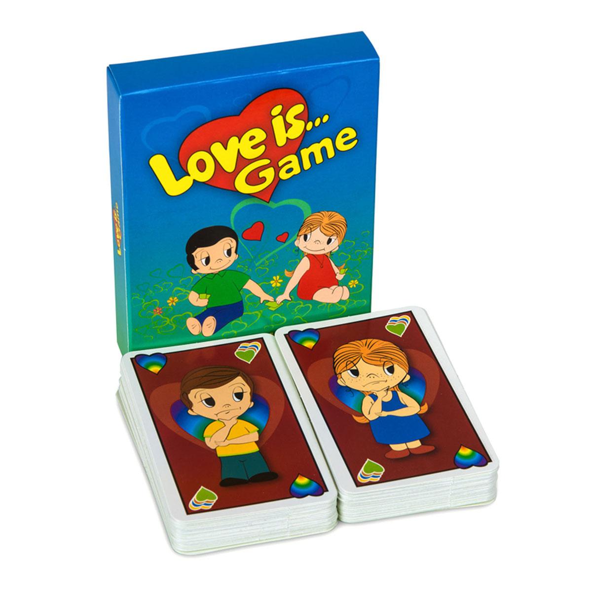 Карточная игра Уно Love is..., с инструкцией, 96 карточек5202