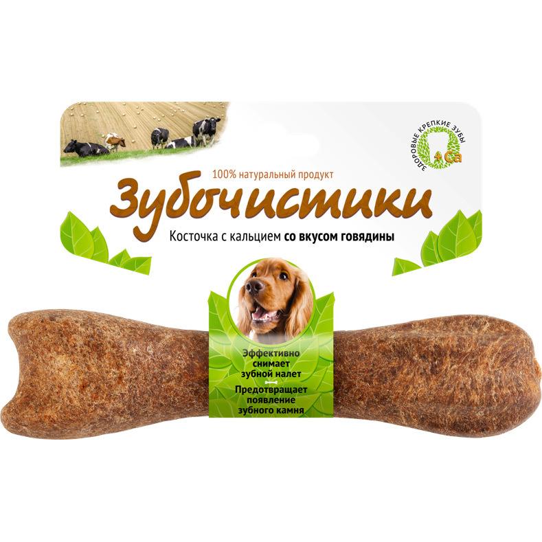 """Лакомство """"Зубочистики"""" для собак средних пород, с говядиной 54944"""