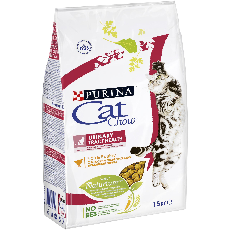 Корм сухой для кошек Cat Chow Special Care, для профилактики мочекаменной болезни, 1,5 кг12123731Корм сухой Cat Chow Special Care - полнорационный корм для взрослых кошек, для здоровья мочевыводящих путей. Сама природа вдохновляет компанию PURINA на разработку кормов, которые максимально отвечают потребностям ваших питомцев, с учетом их природных инстинктов. Имея более чем 80-ти летний опыт в области питания животных, PURINA создала новый корм Cat Chow - полностью сбалансированный корм, который не только доставит удовольствие вашей кошке, но и будет полезным для ее здоровья. Особенности корма Cat Chow Special Care: Высокое содержание мяса, с источниками высококачественного белка в каждой порции для поддержания оптимальной массы тела. Особое сочетание натуральных ингредиентов: тщательно отобранные травы и овощи (петрушка, шпинат, морковь, горох). Отборные ингредиенты придают особый аромат. Высокое содержание витамина Е для поддержания естественной защиты организма питомца. Содержит мякоть свеклы и цикорий для...
