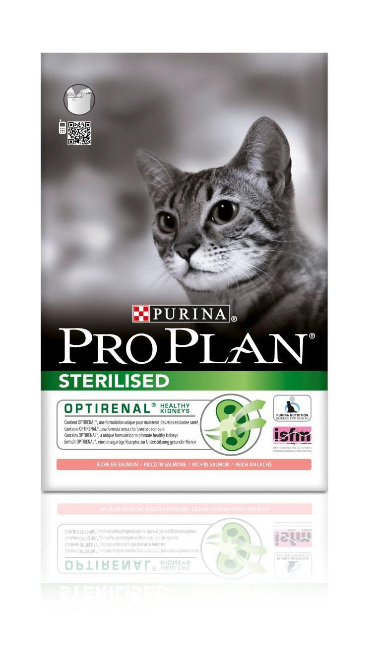 Корм сухой Pro Plan Sterilised для кастрированных котов и стерилизованных кошек, с лососем, 10 кг12171890Сухой корм Pro Plan Sterilised - полнорационный корм для взрослых кастрированных котов и стерилизованных кошек. Содержит особую разработанную с участием ученых комбинацию ингредиентов для поддержания здоровья кошек в течение продолжительного времени. Pro Plan STERILISED - корм с высококачественным белком и низким содержанием жира, сочетающий все необходимые питательные вещества, включая витамины А, С и Е, а также Омега-3 и Омега-6 жирные кислоты. Обеспечивает баланс pH мочи. Для поддержания здоровья стерилизованных кошек и кастрированных котов. Содержит Optirenal, уникальный комплекс для поддержания здоровья почек. Поддерживает здоровье мочевыводящей системы стерилизованных кошек и кастрированных котов, предотвращая риск развития заболевания нижнего отдела мочевыводящих путей. Помогает защищать зубы от образования налета и зубного камня. Помогает поддерживать здоровый вес Состав: лосось (20%), кукурузный глютен, рис, сухой белок птицы,...