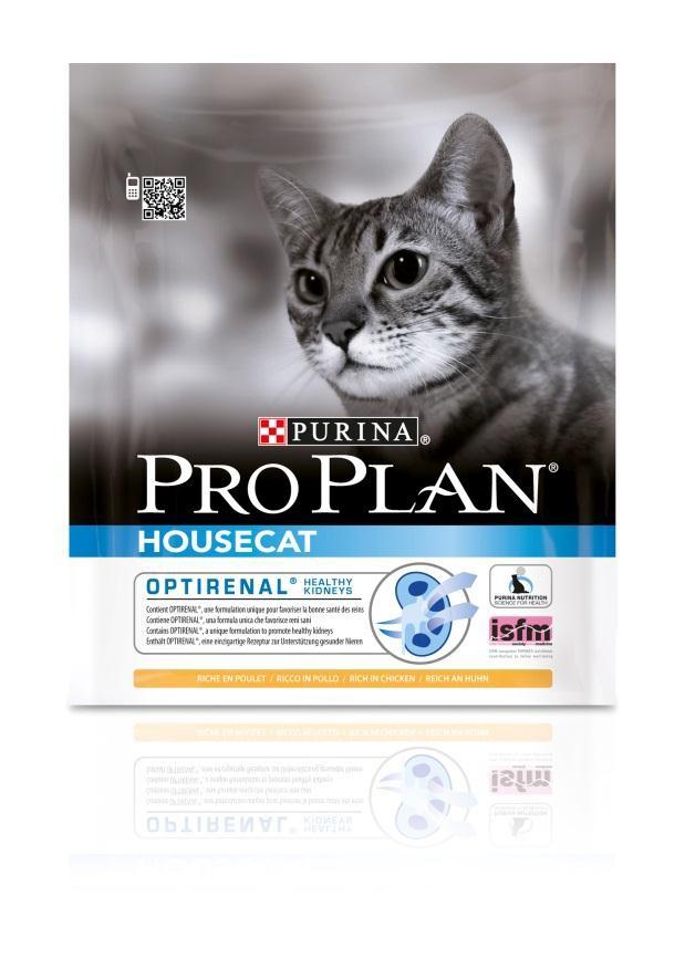 Корм сухой Pro Plan House Cat для взрослых кошек, живущих в помещении, с курицей, 400 г12171999Сухой корм Pro Plan House Cat - это полноценный рацион для взрослых кошек живущих в помещении. Он содержит особую разработанную с участием ученых комбинацию ингредиентов для поддержания здоровья вашего питомца в течение продолжительного времени. Особенности сухого корма: содержит уникальную формулу для поддержания здоровья почек, контролирует процесс образования комков шерсти и способствует мягкому продвижению шерсти по пищеварительному тракту, обеспечивает здоровое переваривание и продвижение пищи по желудочно-кишечному тракту, помогает восстановлению здоровья желудочно-кишечного тракта. Состав: курица (20%), кукурузный глютен, сухой белок птицы, рис, кукуруза, сухая мякоть свеклы, животный жир, сухой корень цикория (2%), яичный порошок, минеральные вещества, концентрат горохового белка, пшеничный глютен, рыбий жир, вкусоароматическая кормовая добавка, дрожжи, натуральный пребиотик. Анализ: белок: 36%, жир: 14%, сырая зола: 7%,...