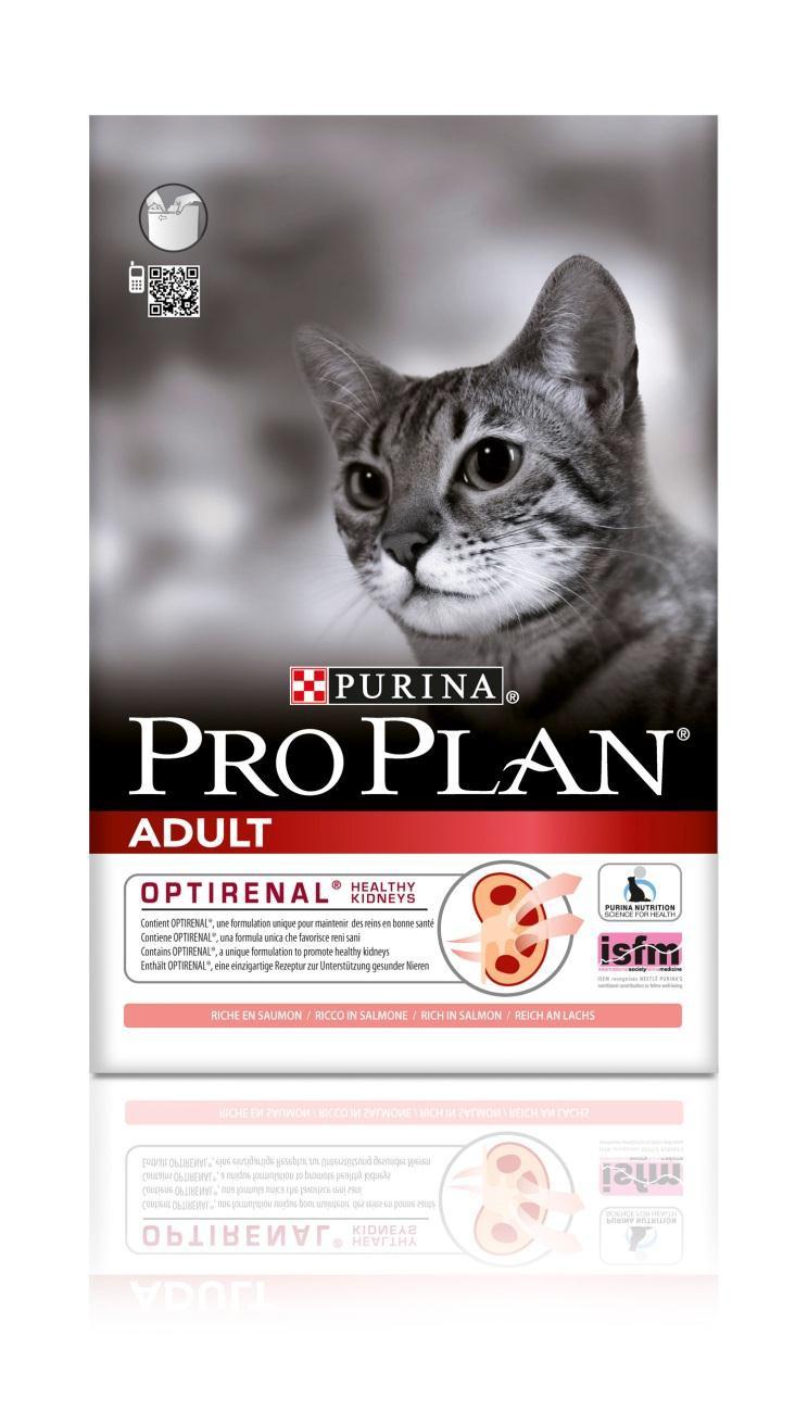 Корм сухой Pro Plan Adult для взрослых кошек, с лососем, 1,5 кг12172062Сухой корм Pro Plan Adult - это полноценный рацион для взрослых кошек. Он содержит особую разработанную с участием ученых комбинацию ингредиентов для поддержания здоровья вашего питомца в течение продолжительного времени. Особенности сухого корма: В состав корма входят все необходимые питательные вещества, включая витамины А, С и Е, а также Омега-3 и Омега-6 жирные кислоты, и натуральный пребиотик; Содержит уникальную формулу для поддержания здоровья почек; Помогает сохранить здоровые суставы и прекрасную подвижность; Делает шерсть шелковистой и блестящей; Помогает защитить зубы от образования налета и зубного камня; Поддерживает здоровье иммунной системы вашего питомца. Состав: лосось (18%), рис, кукурузный глютен, сухой белок птицы, кукуруза, пшеница, животный жир, яичный порошок, сухой корень цикория (2%), пшеничный глютен, минеральные вещества, концентрат горохового белка, вкусоароматическая кормовая добавка, дрожжи,...