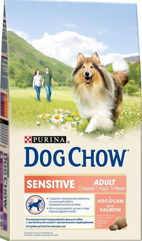 Корм сухой Dog Chow Sensitive для взрослых собак с чувствительным пищеварением, с лососем, 2,5 кг12233236Сухой корм Dog Chow Sensitive - 100% полнорационное сбалансированное питание, предназначенное для собак с чувствительной кожей и чувствительным пищеварением. Содержит натуральный пребиотик, улучшающий работу пищеварительной системы. Цикорий - источник натурального пребиотика, который, как показали исследования, способствует росту численности полезных кишечных бактерий и нормализации деятельности пищеварительной системы. Корм для собак с чувствительной кожей и чувствительным пищеварением содержит омега-3 жирные кислоты, которые поддерживают здоровье чувствительной кожи и шерсти, а также натуральный пребиотик, улучшающий работу пищеварительной системы, помогая вашему питомцу быть счастливым. Гранулы двух видов для гигиены полости рта. Специальная форма и текстура гранул способствует легкому пережевыванию и поддержанию здоровья полости рта. Наши диетологи и заводчики тщательно протестировали это сочетание гранул для гарантии того, что они...