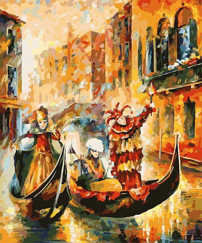Живопись на цветном холсте Венецианская гондола, 50 см х 60 см. 1006-AL-C1006-AL-CЖивопись на холсте Венецианская гондола - это набор для раскрашивания по номерам красками на холсте. Каждая краска имеет свой номер, соответствующий номеру на картинке. Нужно только аккуратно нанести необходимую краску на отмеченный для нее участок. Таким образом, шаг за шагом у вас получится великолепная картина. С помощью такого набора вы можете стать настоящим художником и создателем прекрасных картин. Вы получите истинное удовольствие от погружения в процесс творчества, и созданные своими руками картины украсят интерьер вашего дома или станут прекрасным подарком. Техника раскрашивания на холсте по номерам дает возможность легко рисовать даже сложные сюжеты. Прекрасно развивает художественный вкус, аккуратность и внимание. В набор входят: - профессиональный прогрунтованный холст из 100% хлопка с нанесенным цветным рисунком, натянутый на деревянный подрамник, - специально разработанные нетоксичные, экологичные, безопасные, ...