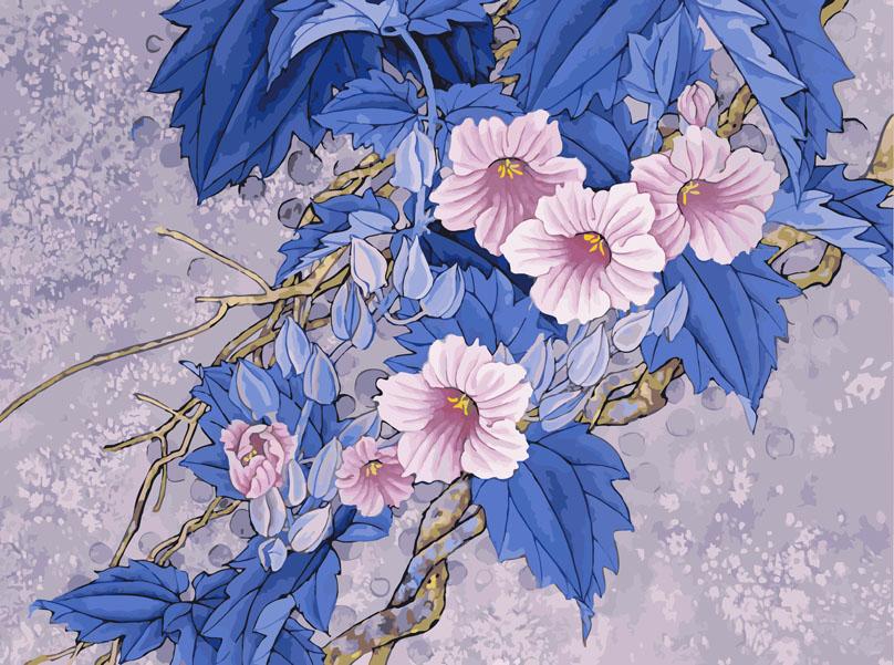 Живопись на цветном холсте Цветущая ветвь, 40 х 50 см905-AB-C Цветущая ветвьЖивопись на цветном холсте Цветущая ветвь - это набор для раскрашивания по номерам акриловыми красками на холсте. В набор входят: - холст на подрамнике с нанесенным цветным рисунком, - контрольный лист с нанесенным рисунком, - набор акриловых красок, - 3 кисти, - настенное крепление для готовой картины. Каждая краска имеет свой номер, соответствующий номеру на картинке. Нужно только аккуратно нанести необходимую краску на отмеченный для нее участок. Таким образом, шаг за шагом у вас получится великолепная картина. С помощью серии наборов Живопись на холсте с цветным трафаретом вы можете стать настоящим художником и создателем прекрасных картин. Вы получите истинное удовольствие от погружения в процесс творчества, и созданные своими руками картины украсят интерьер вашего дома или станут прекрасным подарком. Техника раскрашивания на цветном холсте по номерам дает возможность легко рисовать даже сложные...
