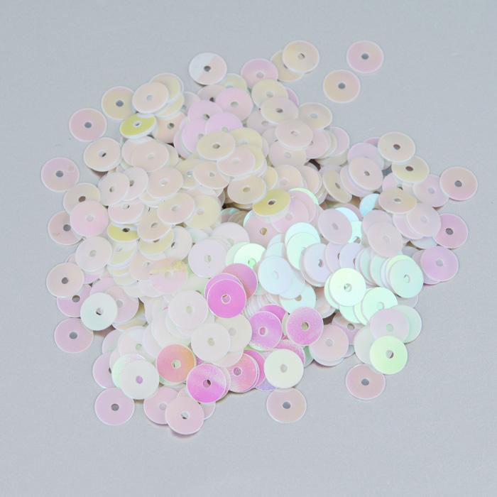 Пайетки плоские Астра, цвет: светло-розовый, 6 мм, 10 г. 7700471_3197700471_319 св.-розовыйПайетки Астра выполнены в виде круглой чешуйки из блестящего пластика многогранной формы и с отверстием для продевания нитки. Они идеально подойдут для вышивания на предметах быта и женской одежде. Они позволят изыскано украсить любую вещь, подойдут для декора сценических костюмов, создания стилизованной одежды. Диаметр: 6 мм. Вес: 10 г.