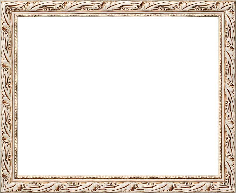 Багетная рама Kleopatra, цвет: белый, 40 х 50 см2595-BB Kleopatra (белый)Багетная рама Kleopatra изготовлена из дерева. Багетные рамы предназначены для оформления картин, вышивок и фотографий. Оформленное изделие всегда становится более выразительным и гармоничным. Подбор багета для картин очень важен - от этого зависит, какое значение будет иметь выполненная работа в вашем интерьере. Если вы используете раму для оформления живописи на холсте, следует учесть, что толщина подрамника больше толщины рамы и сзади будет выступать, рекомендуется дополнительно зафиксировать картину клеем, лист-заглушку в этом случае не вставляют. В комплекте - крепежные элементы, с помощью которых изделие можно подвесить на стену и задник.