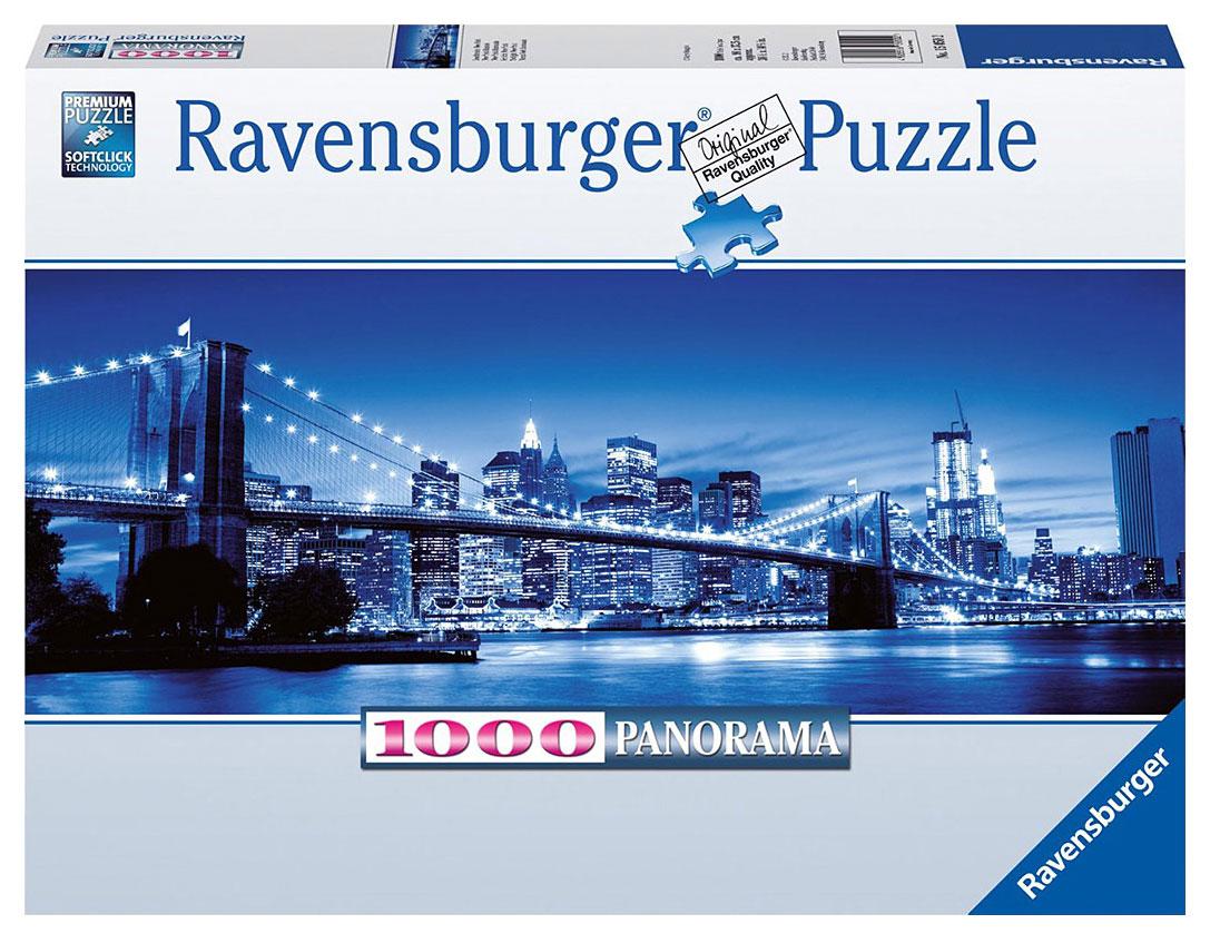Ravensburger Ночь в Нью-Йорке. Пазл, 1000 элементов