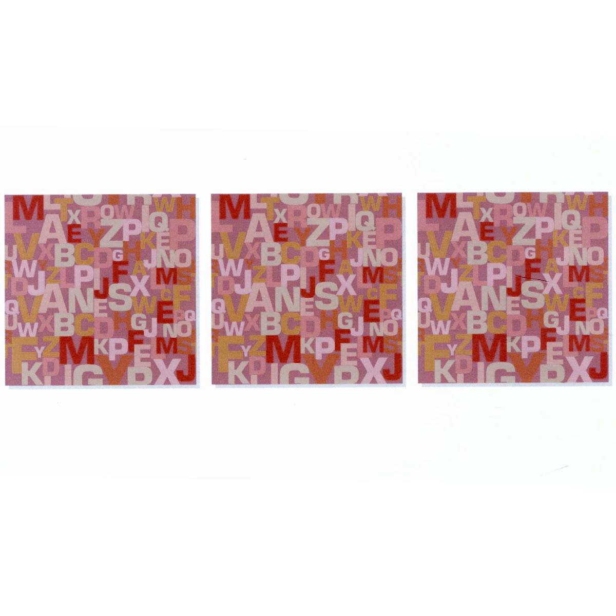 Модульная картина на холсте КвикДекор Буквы, 156 см х 50 смPSM-14-0392-3Модульная картина на холсте КвикДекор Буквы - это прекрасное решение для декора помещения. Картина состоит из трех частей (модулей), объединенных общей тематикой. Картина составная, то есть изображение на каждом модуле является самостоятельным. Такую композицию можно вешать как угодно - вертикально, горизонтально, со сдвигом или блоками. Модули вешаются на расстоянии 2-3 см друг от друга. Латексная печать (без запаха) на натуральном х/б холсте, галерейная натяжка на деревянные подрамники из высококачественной сосны. Такая картина будет потрясающе смотреться везде, где бы вы ее не повесили: в гостиной, спальне, офисе, в загородном доме, также подойдет для детской. Она оригинально украсит интерьер и сделает обстановку комфортной и уютной. Картина в стрейч-пленке с защитными картонными уголками упакована в гофрокоробку с термоусадкой. Размер модуля: 50 см х 50 см. Количество модулей: 3 шт. Общий размер картины: 156 см х 50 см. Художник: Ольга...