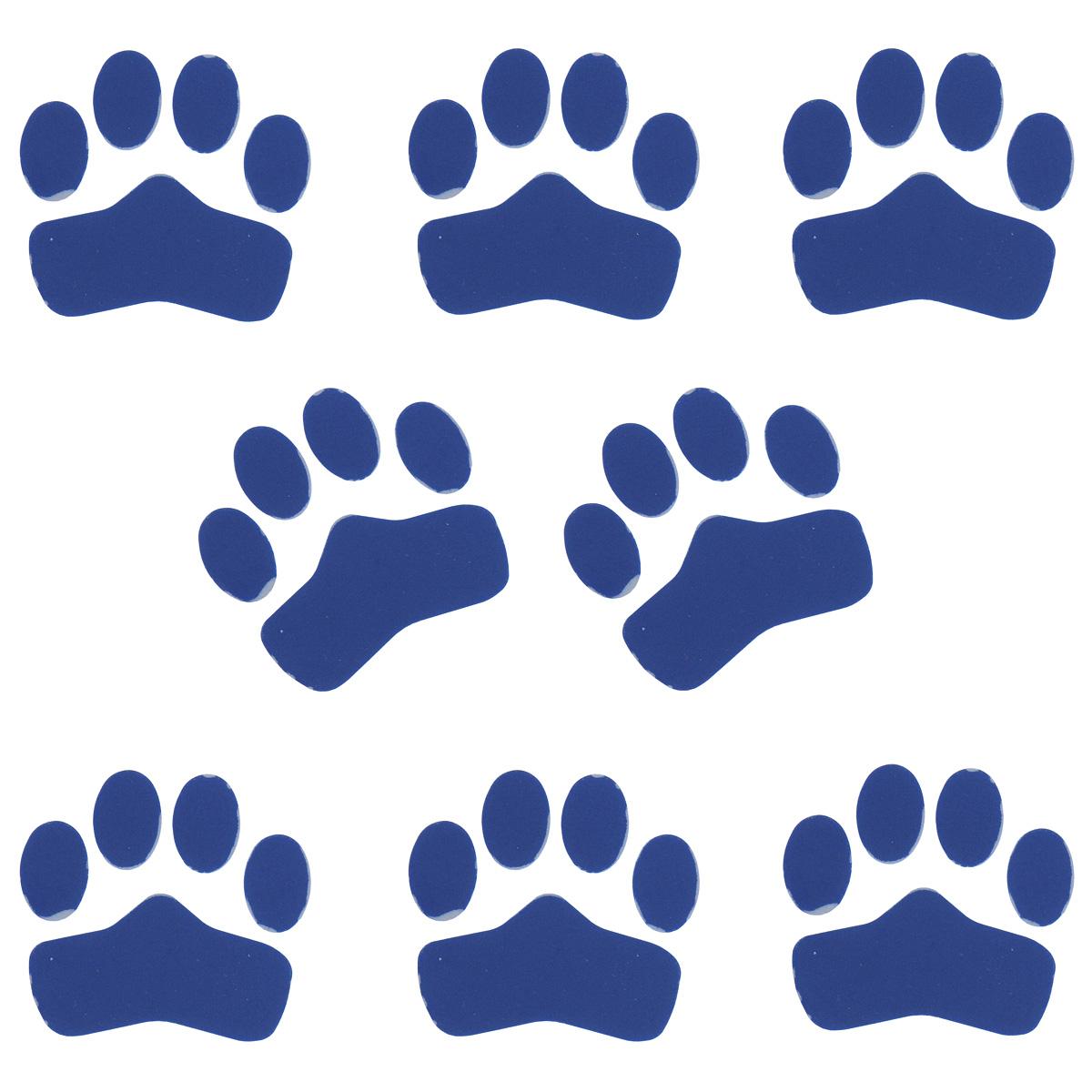 Противоскользящие наклейки для приклеивания к носкам Regia, цвет: синий, 8 шт. 9824510098245100-синийПротивоскользящие наклейки Regia изготовлены из ABS пластика и предназначены для приклеивания к носкам. Наклейки выполнены в виде кошачьих лапок. Приклейте их утюгом к подошве носочка и вашему ребеночку будет удобнее ходить по скользкому полу.