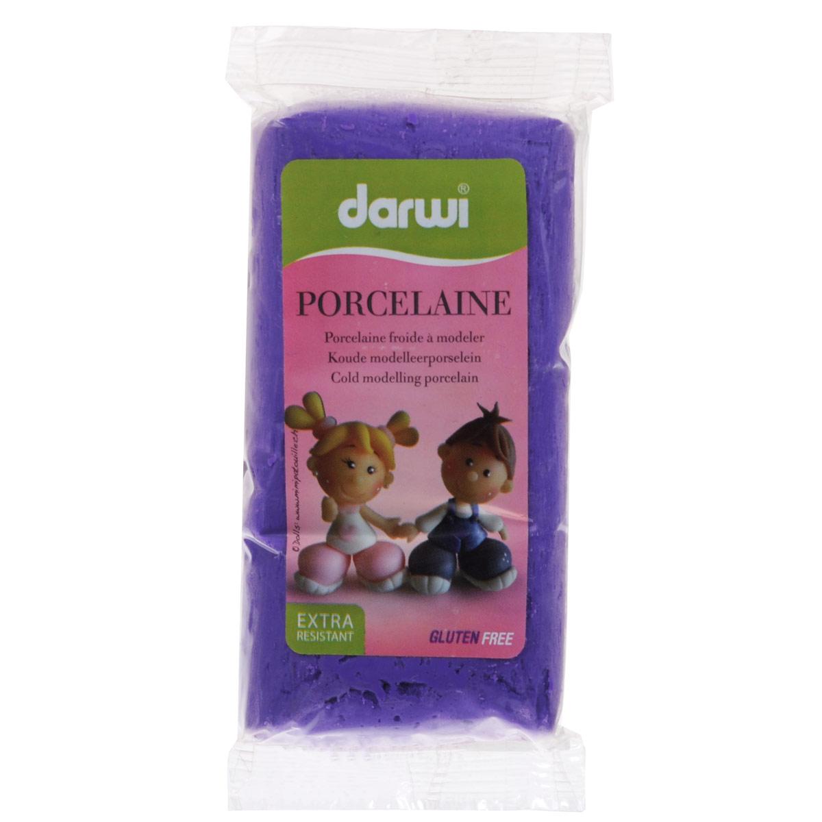 Масса для лепки Darwi Porcelaine, цвет: фиолетовый (900), 150 г357002_900Масса Darwi Porcelaine - это самозатвердевающая полимерная глина, предназначенная для лепки. Уже готова к использованию. После полного высыхания (от нескольких часов до нескольких дней в зависимости от размера работы) масса становится очень твердой и дает небольшую усадку. Влагоустойчива при высыхании. После отверждения можно покрывать лаком, красками. Не рекомендуется давать детям до 3-х лет. Транспортировка и хранение массы возможно при температуре 5-25°С.