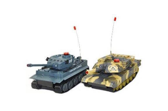 Ginzzu Набор танков на радиоуправлении Танковый бой ( 508-10 )