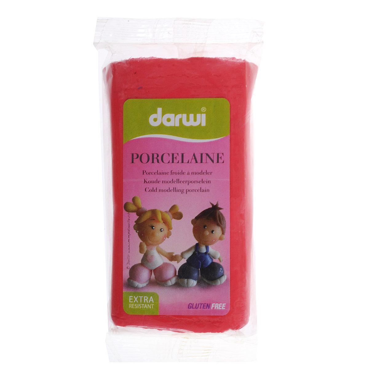 Масса для лепки Darwi Porcelaine, цвет: красный (400), 150 г357002_400Масса Darwi Porcelaine - это самозатвердевающая полимерная глина, предназначенная для лепки. Уже готова к использованию. После полного высыхания (от нескольких часов до нескольких дней в зависимости от размера работы) масса становится очень твердой и дает небольшую усадку. Влагоустойчива при высыхании. После отверждения можно покрывать лаком, красками. Не рекомендуется давать детям до 3-х лет. Транспортировка и хранение массы возможно при температуре 5-25°С.
