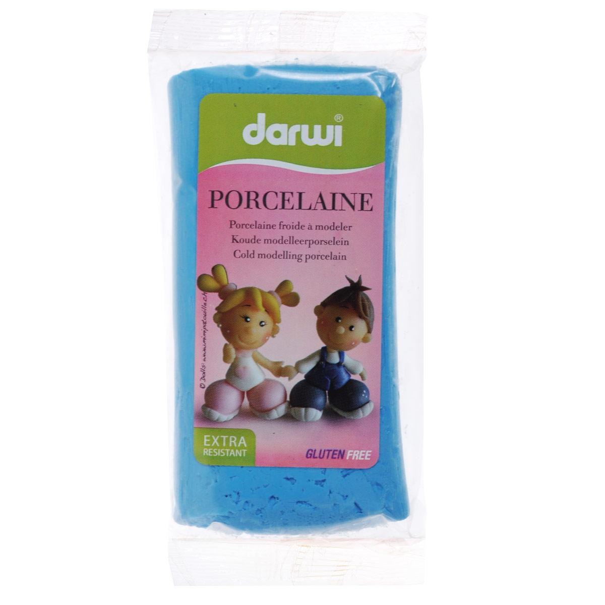 Масса для лепки Darwi Porcelaine, цвет: бирюзовый (676), 150 г357002_676Масса Darwi Porcelaine - это самозатвердевающая полимерная глина, предназначенная для лепки. Уже готова к использованию. После полного высыхания (от нескольких часов до нескольких дней в зависимости от размера работы) масса становится очень твердой и дает небольшую усадку. Влагоустойчива при высыхании. После отверждения можно покрывать лаком, красками. Не рекомендуется давать детям до 3-х лет.