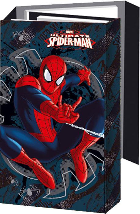 Блокнот Spider-man, с раскладывающейся обложкой. SMAA-US1-OGBSMAA-US1-OGBОригинальный блокнот Spider-man в твердой обложке с магнитным клапаном послужит прекрасным местом для памятных записей, любимых стихов и многого другого. Внутри - три разных блокнота: записная книга, телефонно-адресная книга, ежедневник, два из которых на пружине. Внутренние блоки выполнены из серо-синей офсетной бумаги в линейку. В блокноте всего 108 листов. Такой блокнот вызовет улыбку у каждого, кто его увидит, а также послужит оригинальным и практичным подарком.
