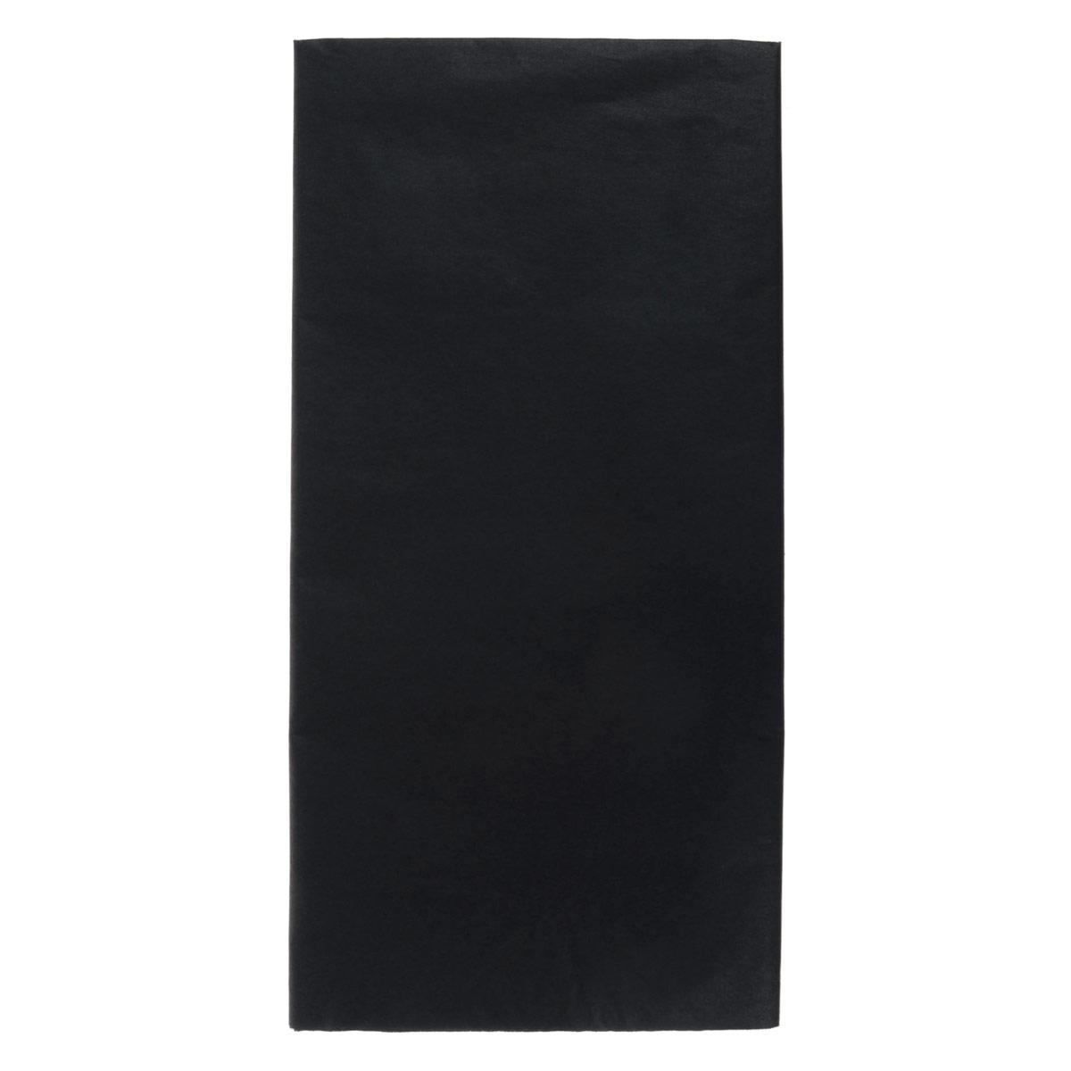 Бумага папиросная Folia, цвет: черный (90), 50 см х 70 см, 5 листов. 7708123_907708123_90Бумага папиросная Folia - это великолепная тонкая и эластичная декоративная бумага. Такая бумага очень хороша для изготовления своими руками цветов и букетов с конфетами, топиариев, декорирования праздничных мероприятий. Также из нее получается шикарная упаковка для подарков. Интересный эффект дает сочетание мягкой полупрозрачной фактуры папиросной бумаги с жатыми и матовыми фактурами: креп-бумагой, тутовой и различными видами картона. Бумага очень тонкая, полупрозрачная - поэтому ее можно оригинально использовать в декоре стекла, светильников и гирлянд. Достаточно большие размеры листа и богатая цветовая палитра дают простор вашей творческой фантазии.