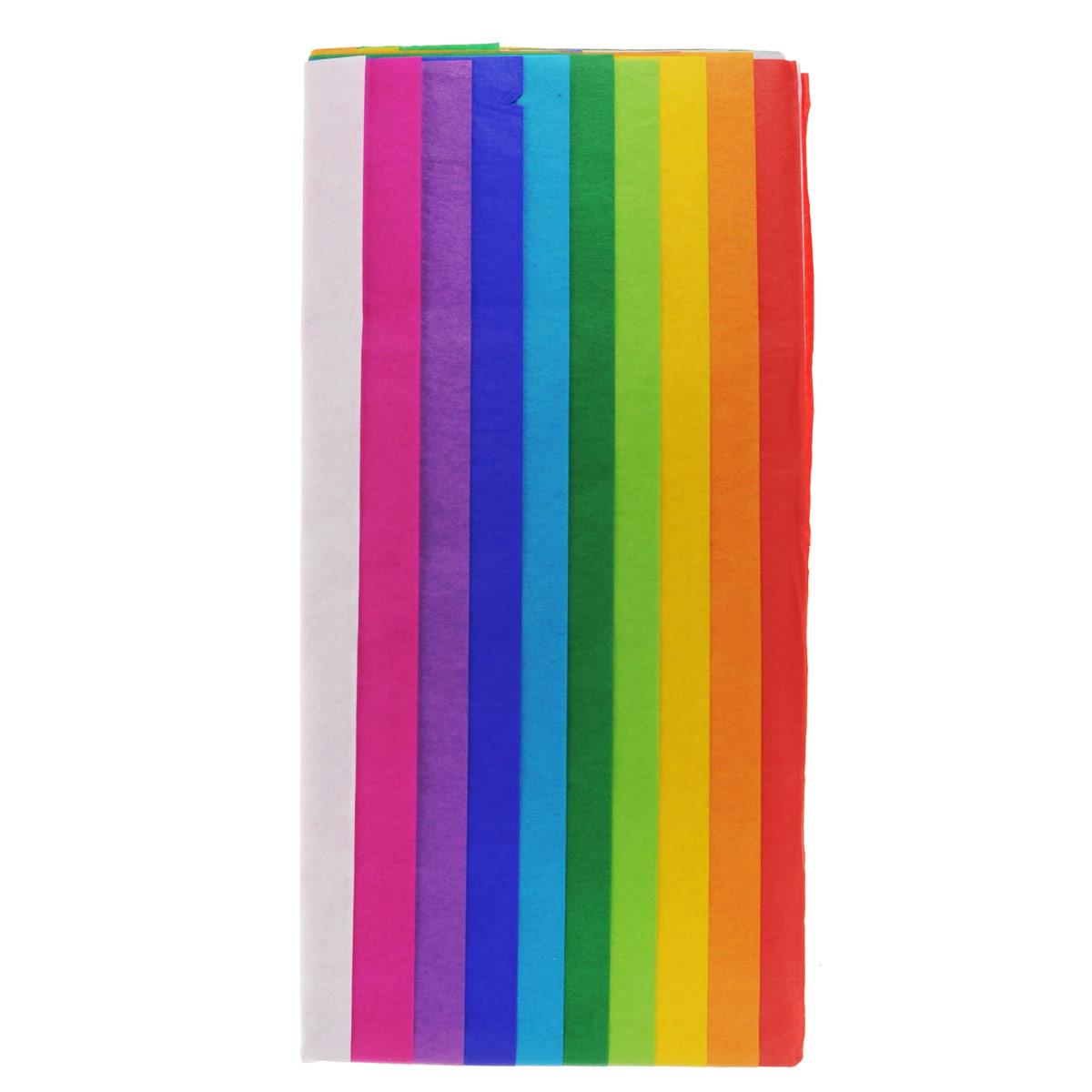 """Бумага папиросная """"Folia"""", 50 х 70 см, 10 листов. 7708122"""
