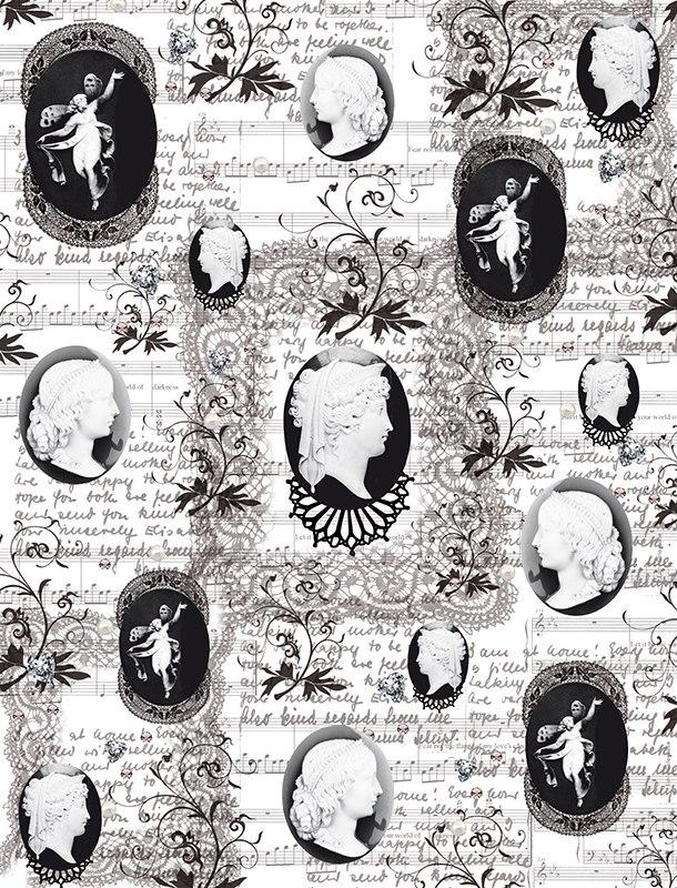 Калька для скрапбукинга Камеи, 21 см х 30 смAM402029Калька для скрапбукинга Камеи - прозрачная бумага с декоративным принтом. Калька идеально подходит для скрапбукинга. С помощью кальки можно не только украшать сами фотографии, но также, используя пергамент для скрапбукинга, придать оригинальный вид всему альбому. Такие декорированные листы вставляются для украшения между страничками в фотоальбомы. Особенно эффектно выглядит свадебный альбом, украшенный таким образом. C помощью кальки делаются различные декоративные элементы для поздравительных открыток и коллажей. Декоративные орнаменты, фигурки или кармашки станут украшением любой открытки или альбома для фотографий.