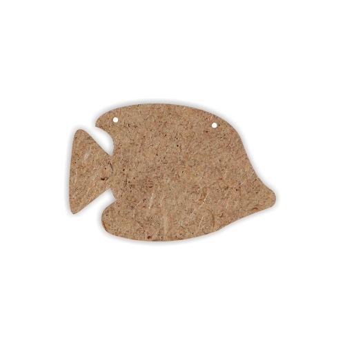Подвеска Кустарь Рыбка, 12 см х 8 см х 0,4 смAH6150004Подвеска Кустарь Рыбка изготовлена из МДФ в форме рыбы. Подвеска предназначена для декорирования в различных техниках. Подвеска отличается прочностью, она не деформируется в процессе декора, и практичностью: любую заготовку можно использовать в хозяйстве, а готовую работу преподнести в качестве подарка своим близким в праздники. Также заготовка подойдет для создания новогодней игрушки на елку, декоративной новогодней подвески или для создания новогодней гирлянды. Подвеска сверху имеет отверстие, за которое ее можно вешать.