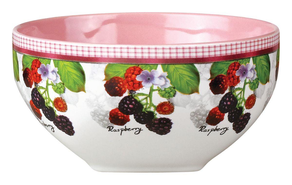 Салатник Ежевика, 510 млSXT M15-14Салатник Ежевика изготовлен из высококачественной керамики и декорирован ярким изображением ягод ежевики. Он прекрасно впишется в интерьер вашей кухни и станет достойным дополнением к кухонному инвентарю. Такой салатник не только украсит ваш кухонный стол и подчеркнет прекрасный вкус хозяйки, но и станет отличным подарком. Можно использовать в посудомоечной машине и микроволновой печи. Объем салатника: 510 мл. Диаметр салатника: 13 см. Высота салатника: 7 см.